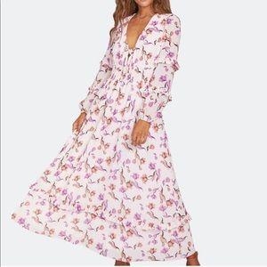 Garden Of Delight Maxi Dress